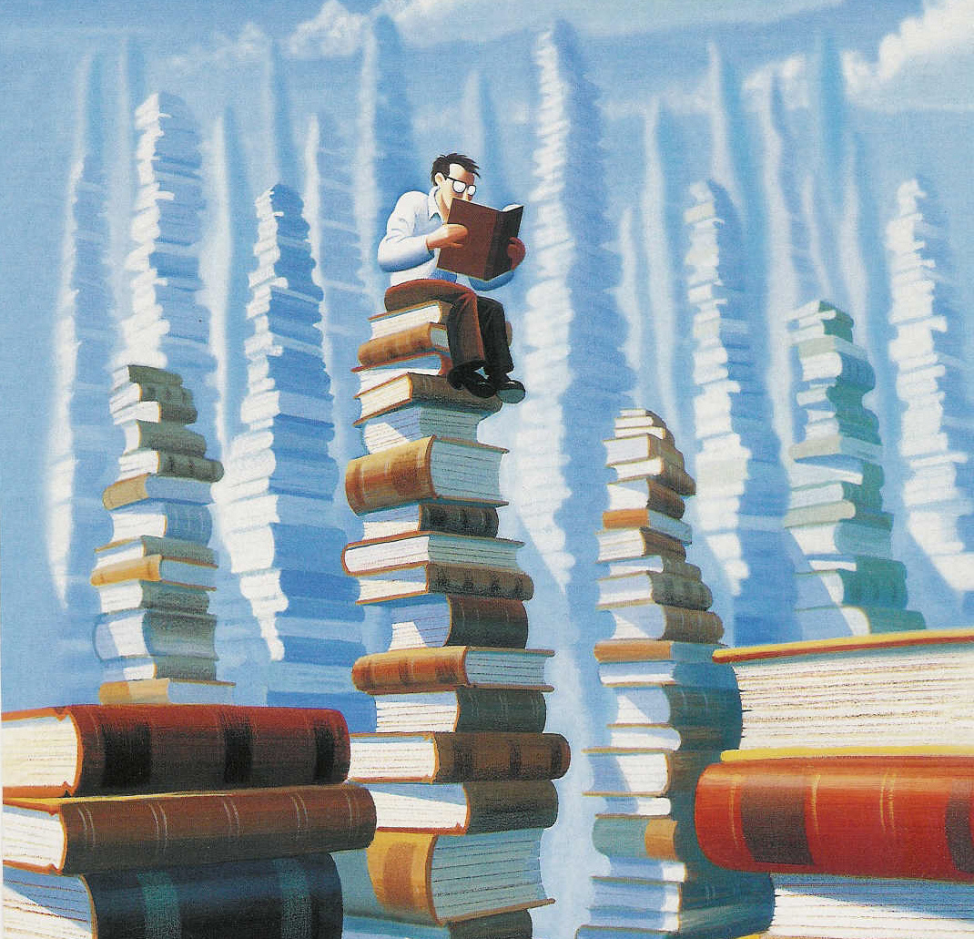bookstacks