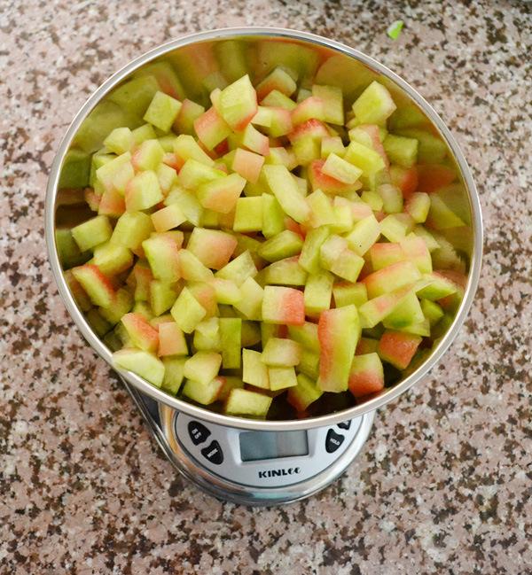طريقة عمل مربى قشور البطيخ