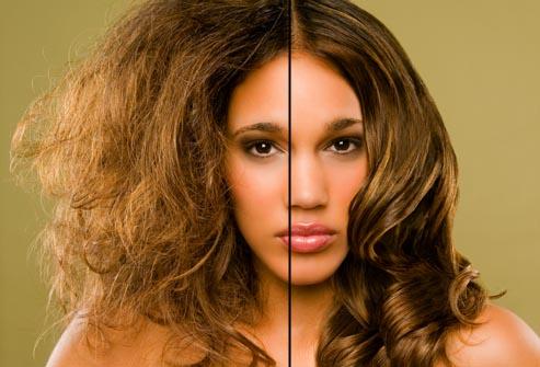 اسباب وعلاج جفاف الشعر