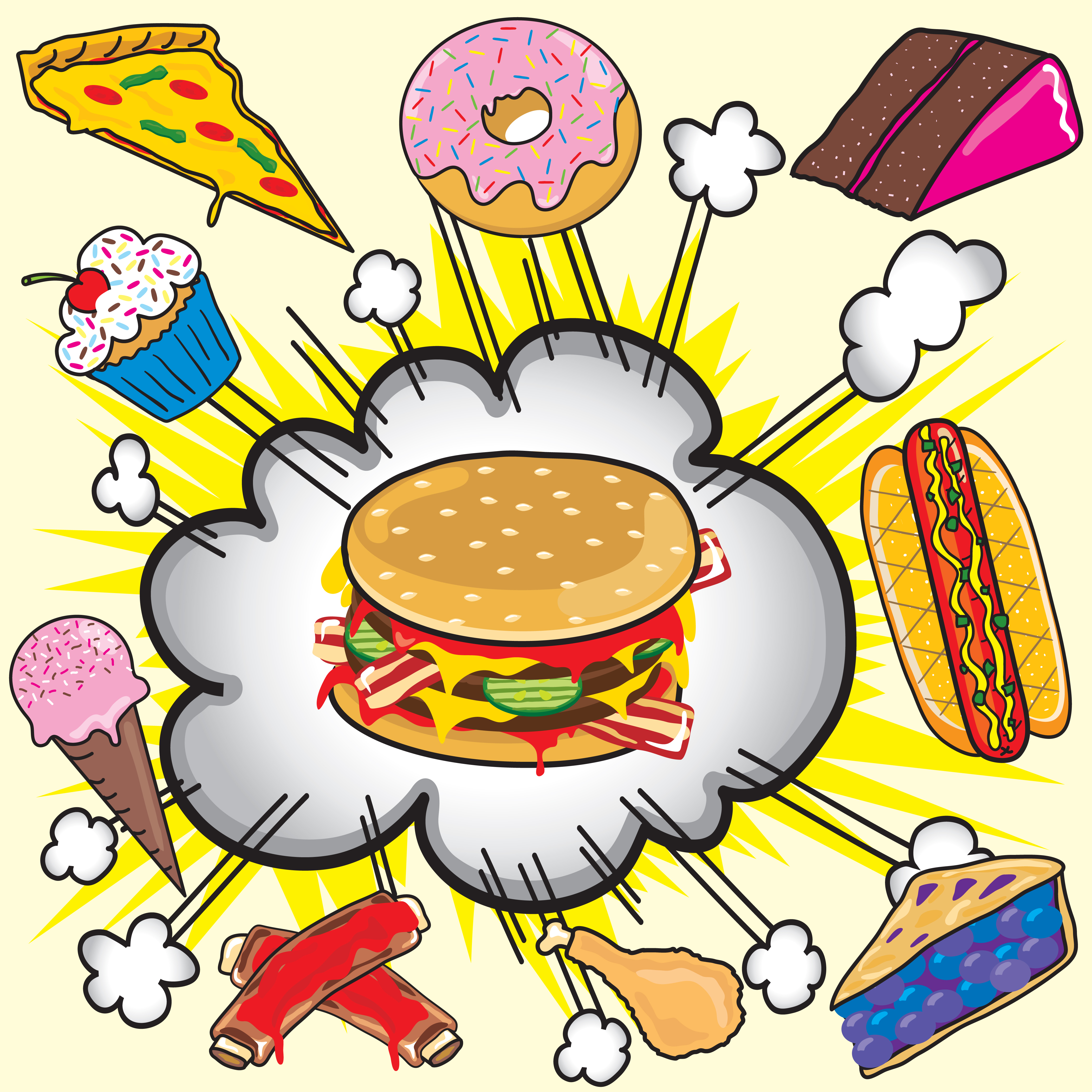 اطعمة تسبب الغباء