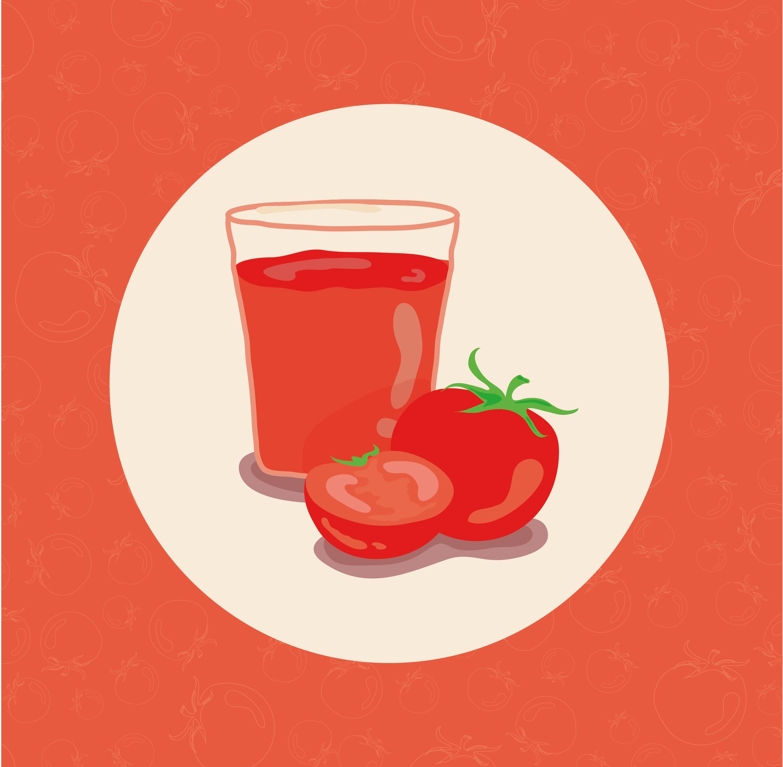 طريقة عمل عصير الطماطم بالصور
