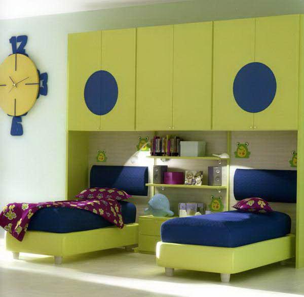 Two Kids Room: اكثر من ٣٠ تصميم رائع من غرف أطفال العام الجديد ٢٠١٥