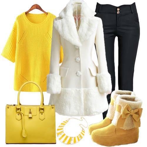 5294cb3feb547 مجموعة من أشيك أزياء و ملابس شتاء 2015 لك سيدتي