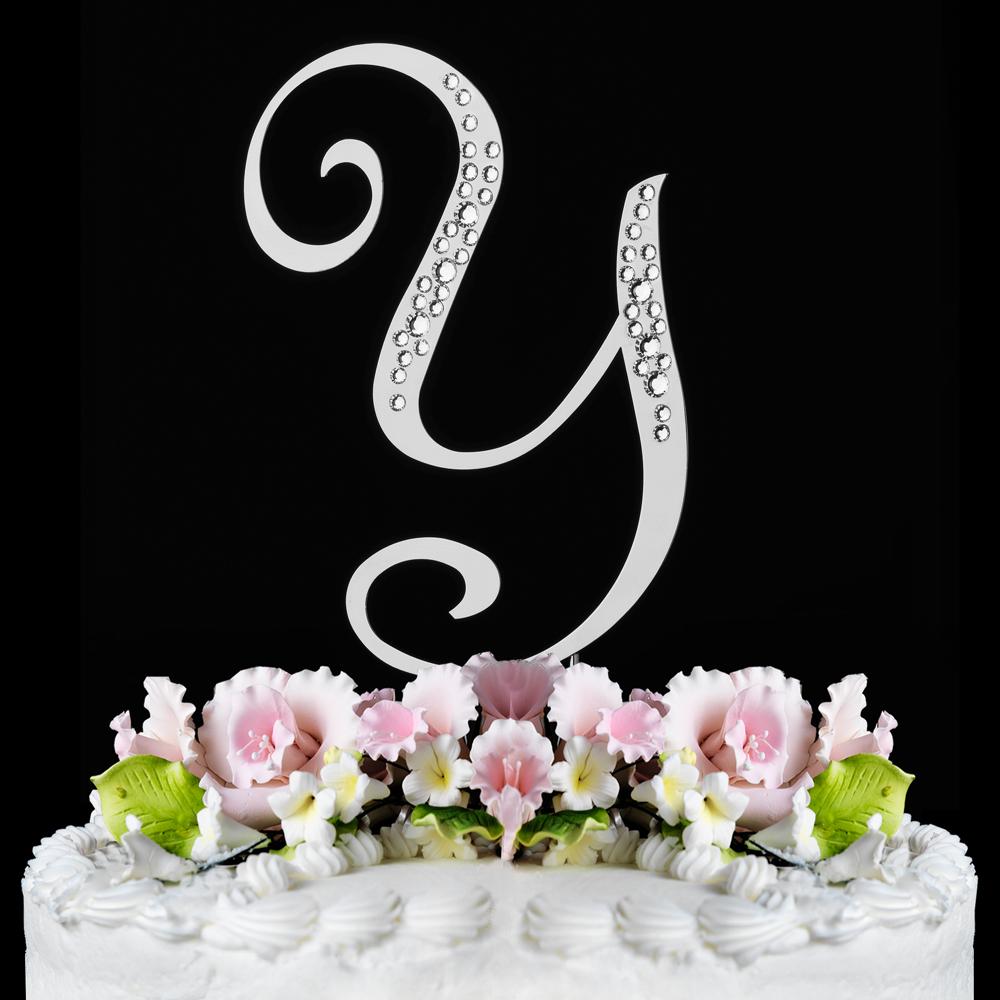 Wedding Cake Topper Letter B