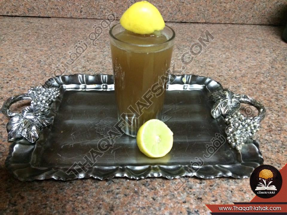 مشروب حرق الدهون الكمون والليمون والزنجبيل