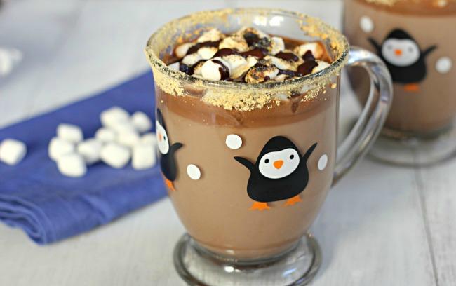 طريقة عمل الشوكولاته الساخنه