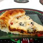 أسهل وصفة لطريقة عمل بيتزا باللحم المفروم 9