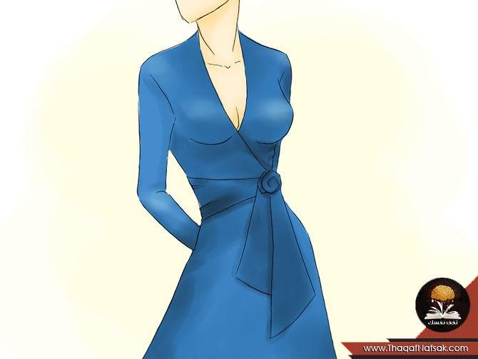 b82a587bc بالصور تعلمى معرفة مقاس الفستان المناسب لك ولشكل جسمك؟