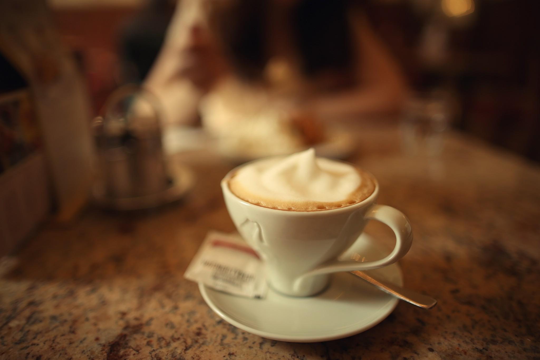 القهوة بالفانيليا