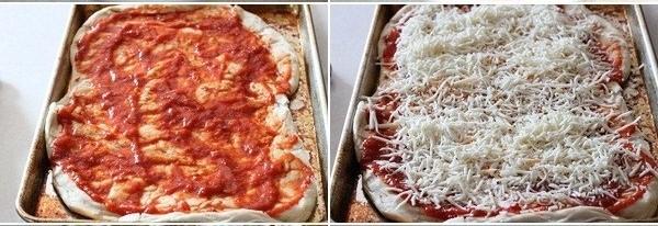 بيتزا بكرات اللحم