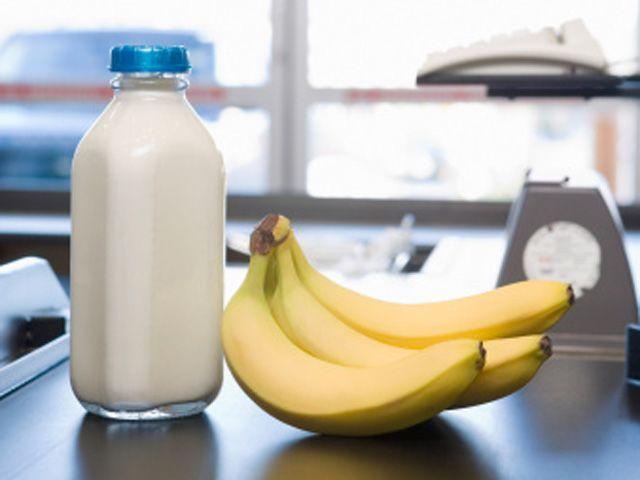 رجيم الموز والحليب
