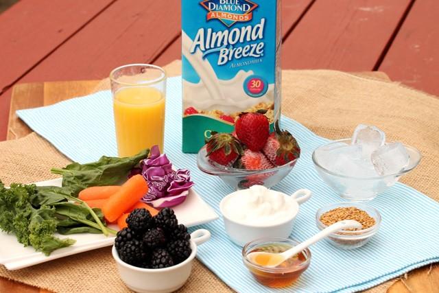 وصفة عصير الفراولة و الخضروات المفيد لصحتك2