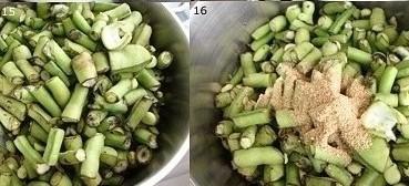 طريقة فريدة لعمل الفول الأخضر بالزيت 7