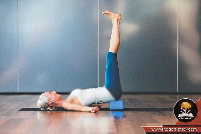 أوضاع اليوجا لتخفيف الضغط على الجسم 2