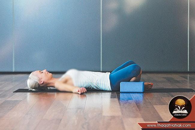 أوضاع اليوجا لتخفيف الضغط على الجسم