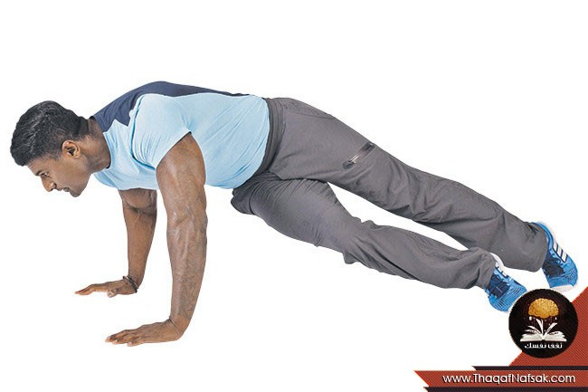التمارين الرياضية كالرياضى المحترف 2