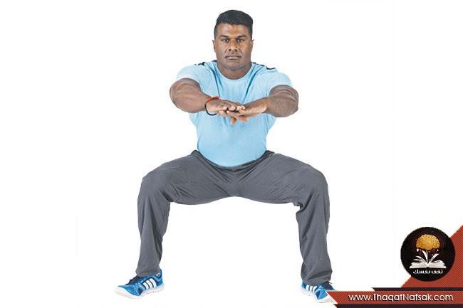 التمارين الرياضية كالرياضى المحترف 5