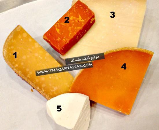 الفرق-بين-الجبنة-البيضاء-والصفراء