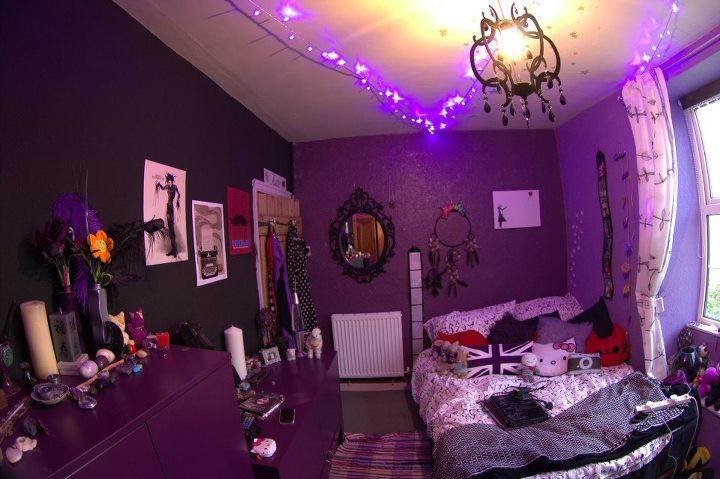 تشكيلة غرف نوم باللون الموف