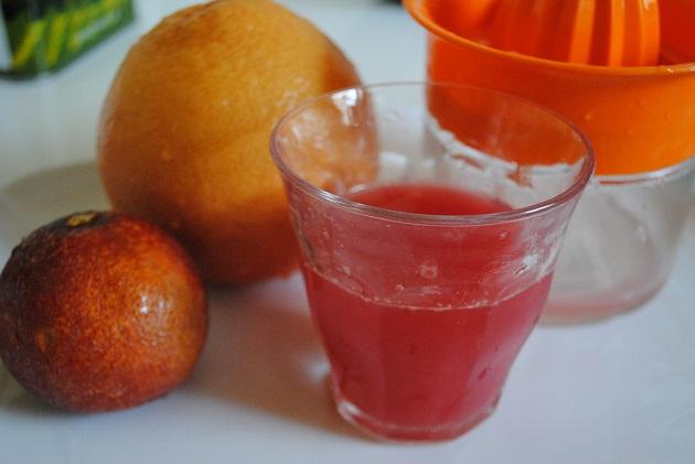 عصير جريب فروت بالبرتقال