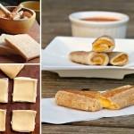 طريقة عمل لفائف الجبن المشوية الصحية واللذيذة
