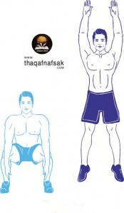 تمارين لتقوية وبناء عضلات الذراعين 1