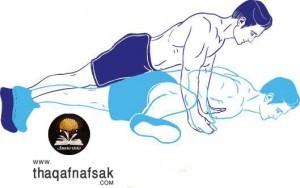 تمارين لتقوية وبناء عضلات الذراعين 4
