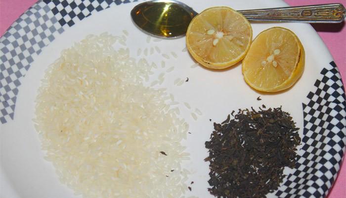 ماسك الأرز لتقشير البشرة