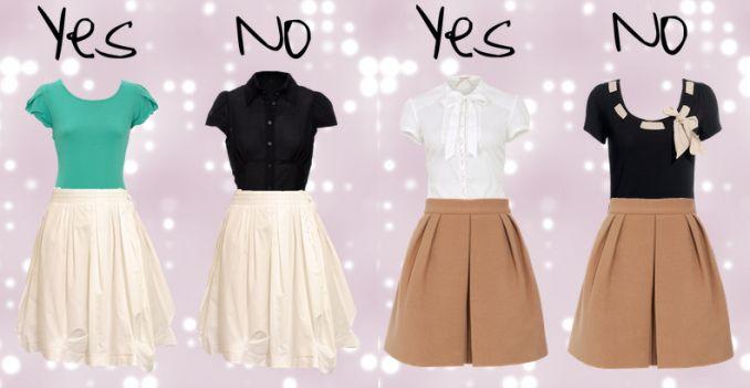 1f14873ba3fd1 أختيار الملابس حسب شكل الجسم   تعرف على الملابس والألوان المناسبة لك والتي  تليق عليك