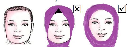 f3b15dd29d8c7 تعرفي علي لفة الحجاب المناسبة لشكل الوجه بالصور1