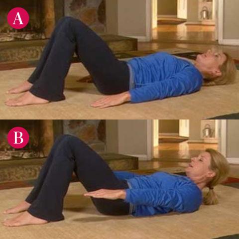 تمارين لشد العضلات البطن، ثقف نفسك 2