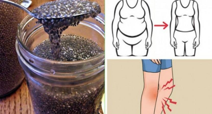 منقوع بذور الشيا لتحسين التمثيل الغذائي وفقدان الوزن