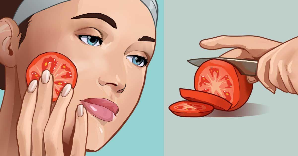 علاج الحبوب بالطماطم طريقة جديدة ومجربة ثقف نفسك