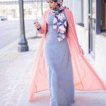 أحدث موضة ملابس المحجبات التركية بالصور 14