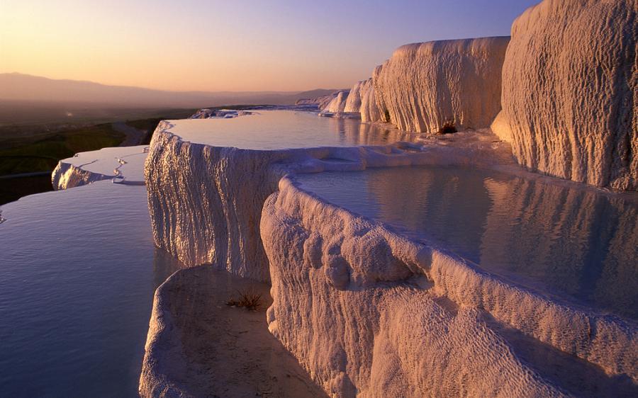 شاهد مدرجات الحجر الجيري في تركيا بالصور14