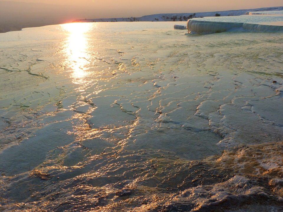 شاهد مدرجات الحجر الجيري في تركيا بالصور6
