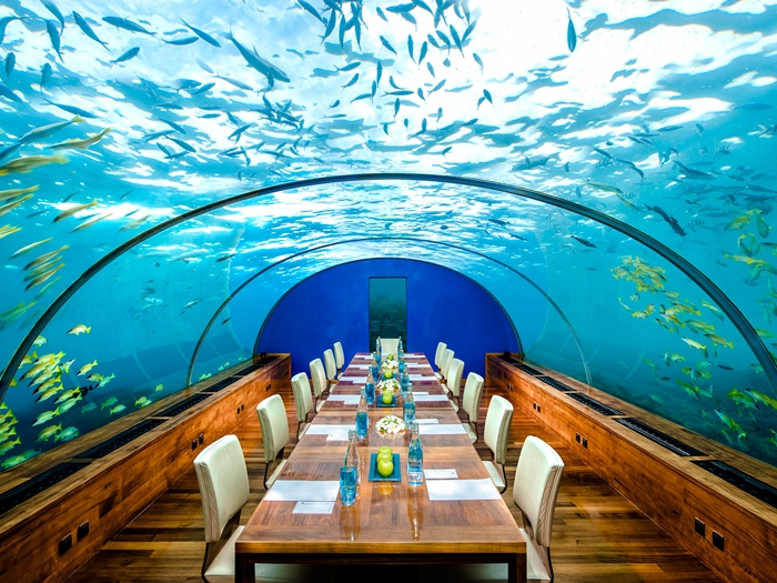 غرف فنادق مذهلة تحت الماء 19