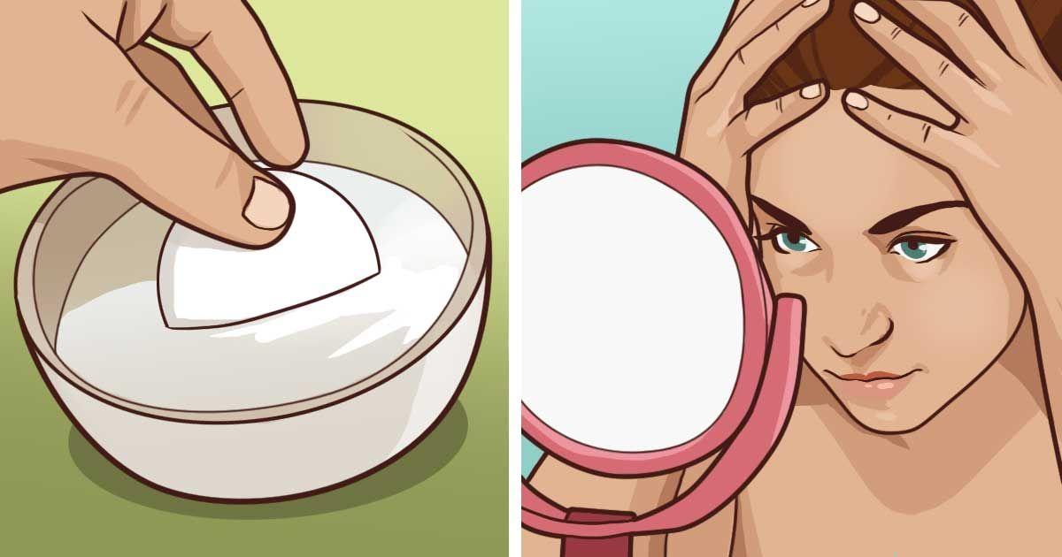 فوائد خليط الحليب والفروالة للعين