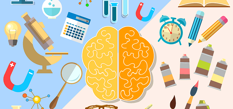 هل أنت أيسر الدماغ أم أيمن الدماغ ؟1