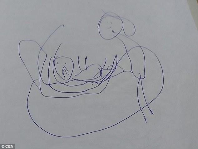 نتيجة بحث الصور عن رسومات ابنتها