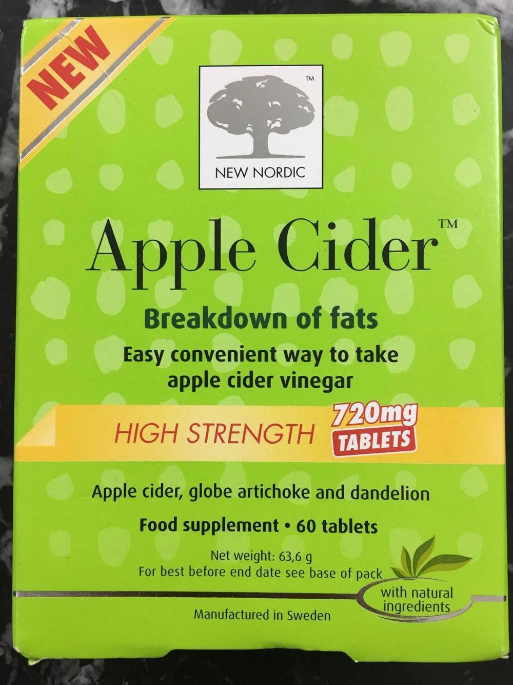 Apple Cider New Nordic