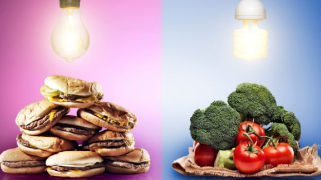ImageSpace - Junk Food Vs Healthy Food Posters | gmispace com