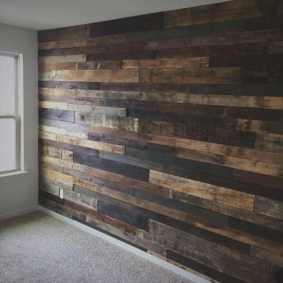 أفكار عصرية للحوائط الخشبية بالصور