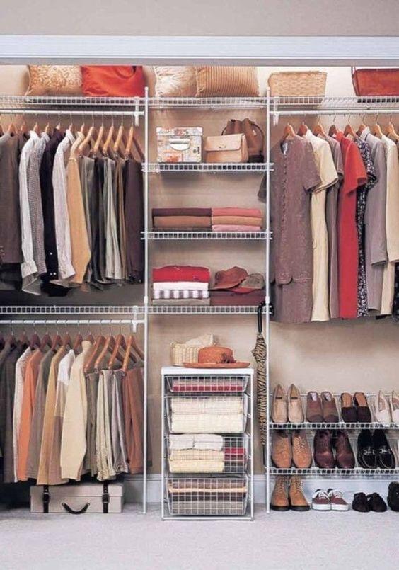 أفكار لخزانة ملابس النساء بالصور