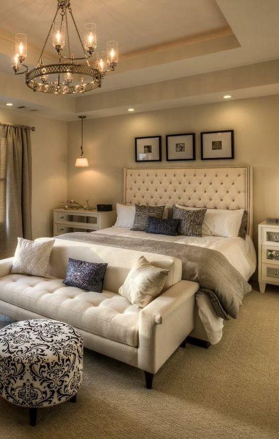 ثريات غرف النوم الأنيقة بالصور