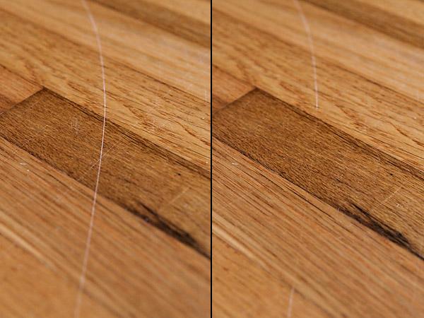 طرق التخلص من الخدوش الخشبية