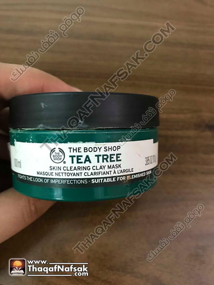 ماسك الطمي بخلاصة شجرة الشاي