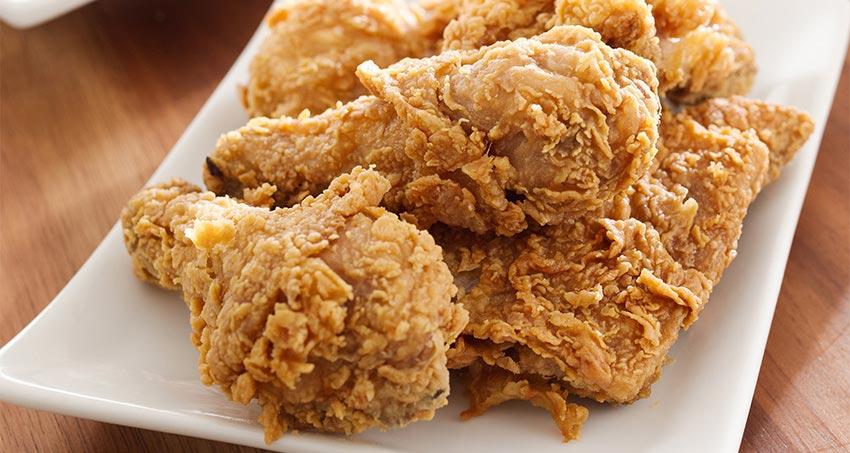 الدجاج مقرمش