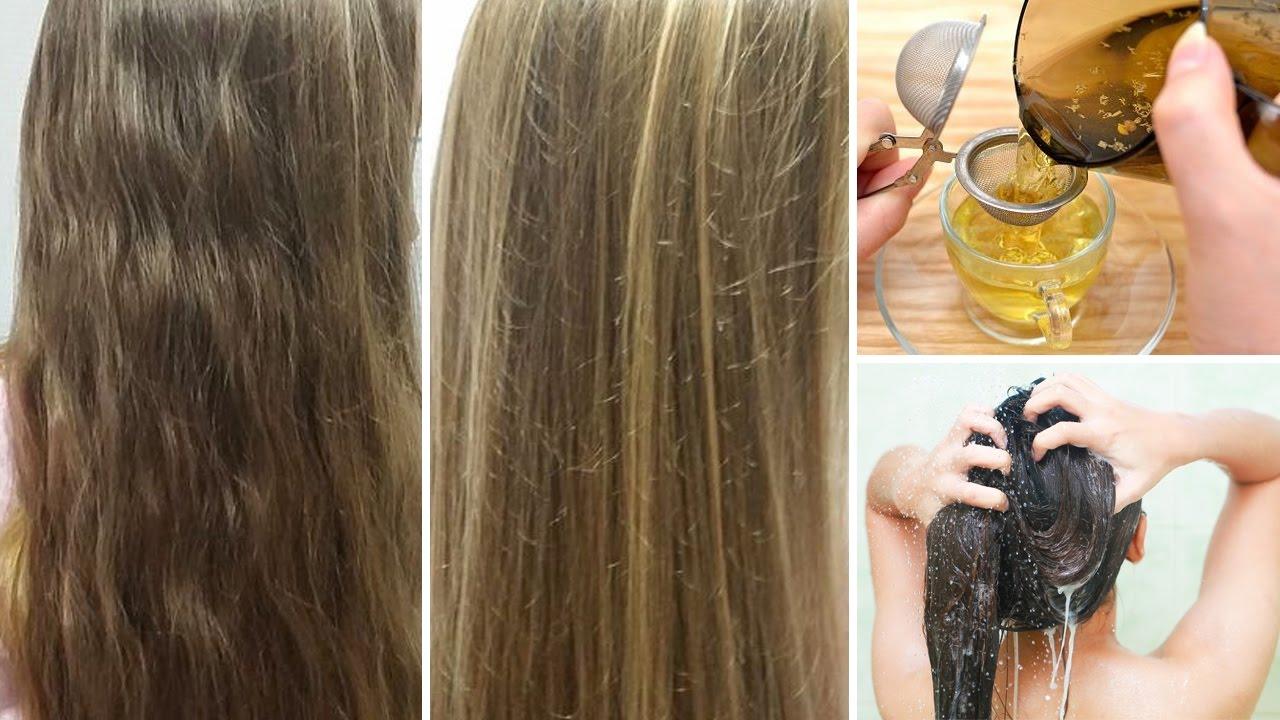 تفتيح الشعر بالبابونج واعطاءه لون ذهبي طبيعي ثقف نفسك