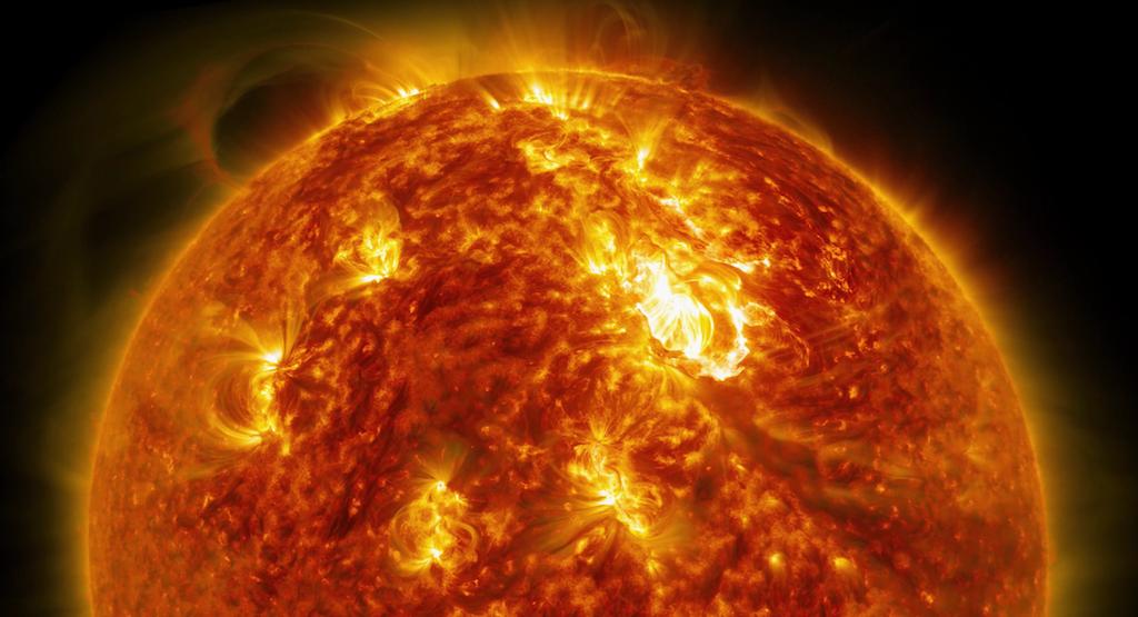 حجم النظام الشمسي